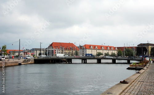City views of Copenhagen, Denmark Wallpaper Mural