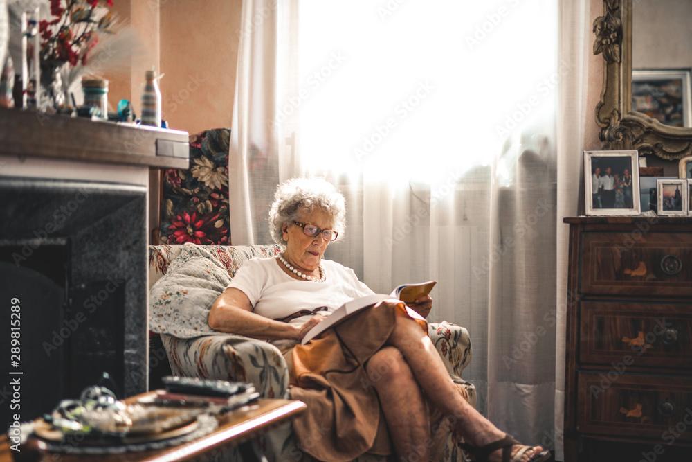 Fototapety, obrazy: Senior days