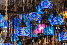 Colorful Turkish Glass Lamps F...