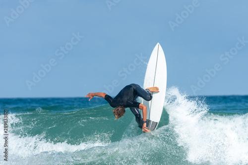 Fotografia  Surfeur à Lacanau (Gironde, France)