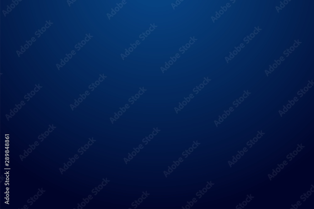 Fototapeta Dark blue gradient background modern look.