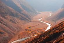 Autumn Landscape Of Chulyshman...