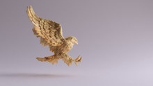 Gold Eagle In Flight Hunting S...