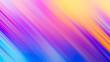 canvas print picture - Abstract rainbow gradient color motion blur diagonal line background