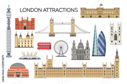 London architecture Fotobehang