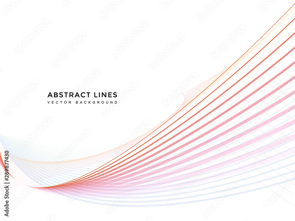 Fototapeta abstract line background