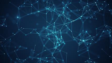 Obraz na płótnie Canvas Technology network concept.