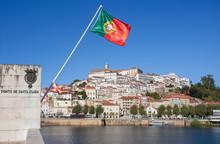 Old Town View Of Coimbra From ...