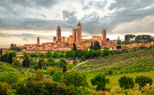 San Gimignano Is A Small Walle...