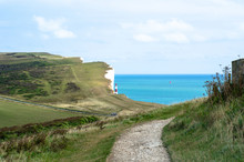 Footpath To Beachy Head Lighth...