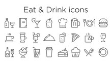 Eat And Drink Icons