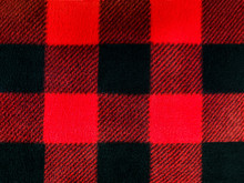 Red And Black Lumberjack Plaid...