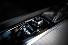 Close Up Of Volvo's Luxury Interior