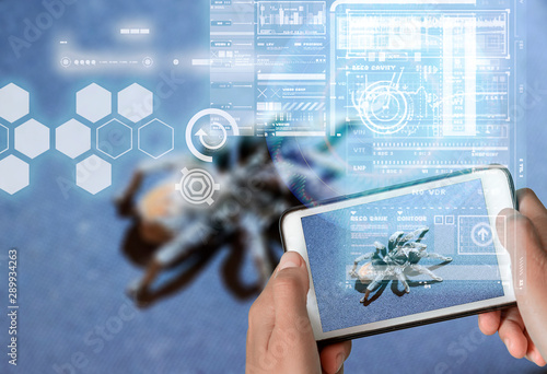 Fotomural  Augmented Reality device using smart technology