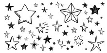 Star Doodle Collection. Set Of...