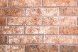 canvas print picture Brown brick wall as background