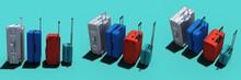 Plastic Luggage, Aluminum Luggage, SuitCase