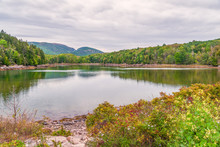 Pond In The Little Hunters Beach Area.Acadia National Park.Maine.USA