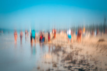 Abstract Photo Effect,colorful Impressionist Style.