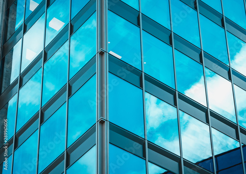 Commercial building close up - 289961606