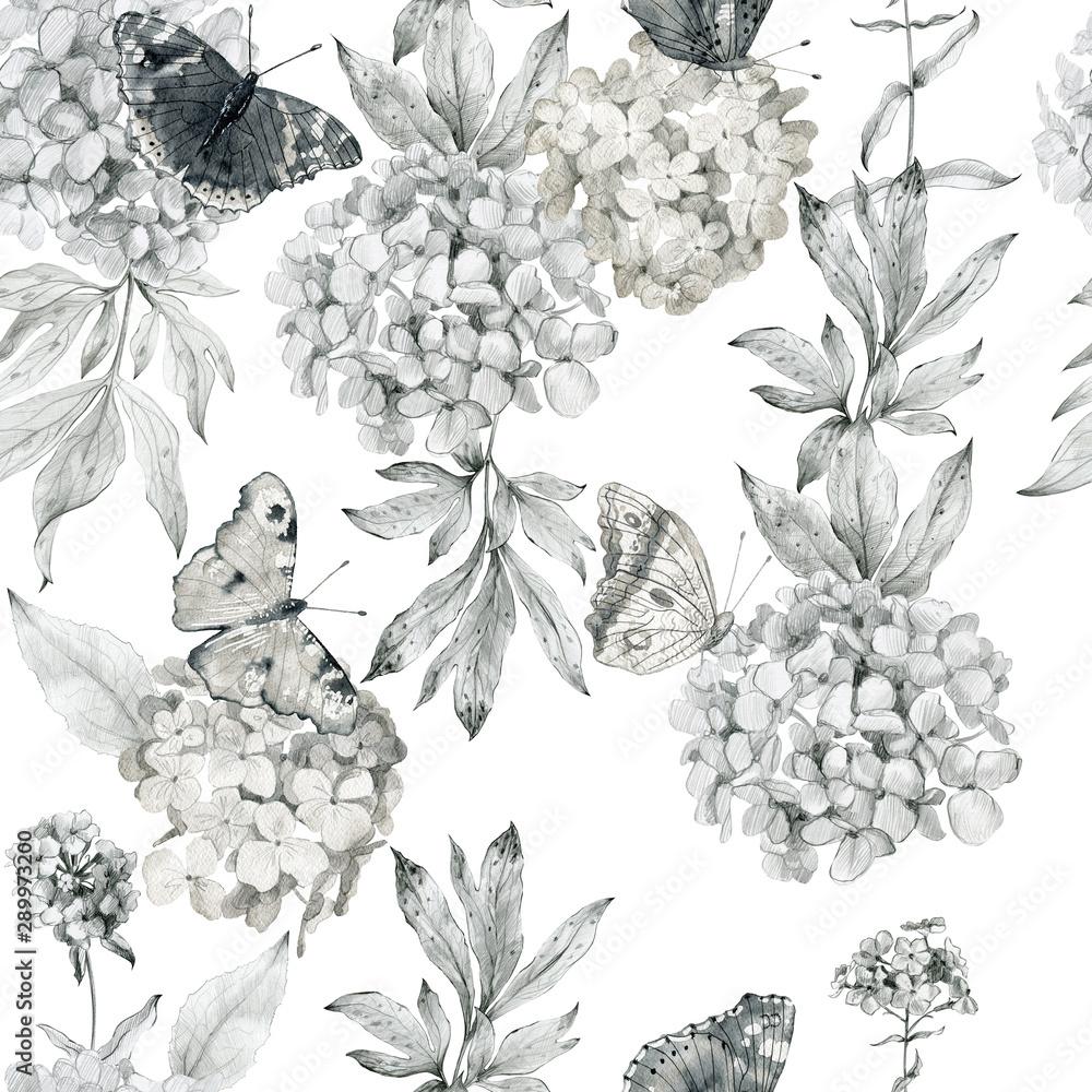 Fototapety, obrazy: Watercolor seamless pattern