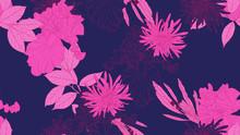 Floral Seamless Pattern, Daffo...
