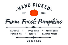 Farm Fresh Pumpkin Patch Design