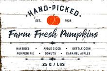 Farm Fresh Pumpkin Patch With Shiplap Design
