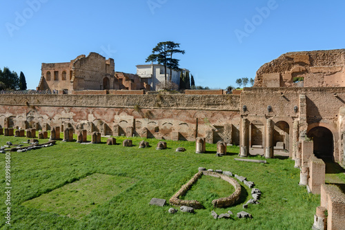 Fototapeta The Palatine is one of the main hills of Ancient Rome