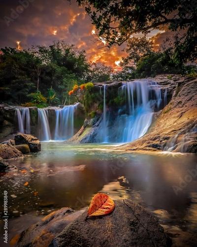Recess Fitting Waterfalls Sapaya Waterfall