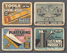 Hand Tools, House Construction And Repair