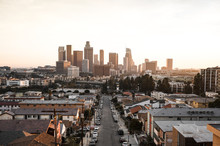 Los Angeles Downtown Sunset Co...