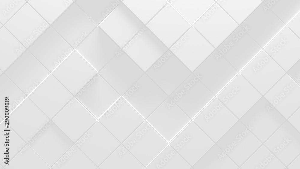 Fototapety, obrazy: White Business Style Background (3D Illustration)