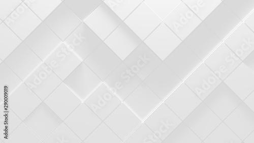 Fotografie, Obraz  White Business Style Background (3D Illustration)