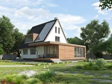 Haus Mit Anbau