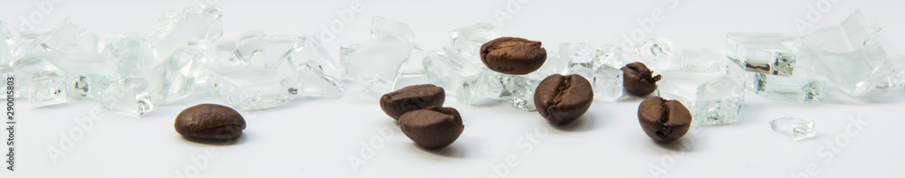 Fototapeta kawa i diamenty