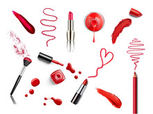 Lipstick Beauty Make Up Heart ...