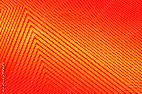 Foto auf AluDibond Rot abstract, orange, illustration, sun, yellow, design, wallpaper, sunset, desert, light, wave, sky, pattern, sand, graphic, nature, texture, art, waves, landscape, gradient, color, backdrop, sunrise