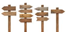 Wood Wooden Sign Arrow Board P...