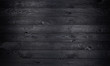 canvas print picture - Black wooden background, old wooden planks texture