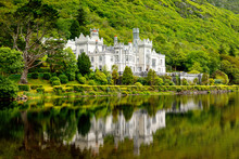 Kylemore Abbey With Water Refl...