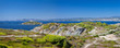 Panoramic landscape on the French Riviera near Toulon