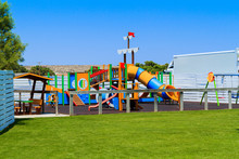 Children's Wooden Playground R...