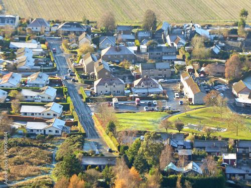 Fototapeta Kinesswood Village in Fife, Scotland