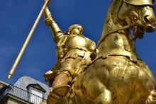 Jeanne D'Arc 1874 Gilded Bro...
