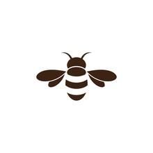 Bee Logo Vector Icon