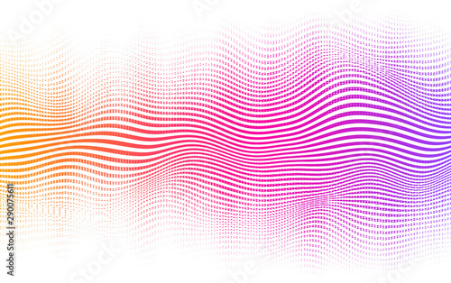 Halftone gradient background Wallpaper Mural