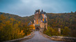 canvas print picture - Burg Eltz in der Eifel