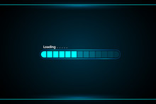Loading Abstract Technology Interface Hud Vector Design For Technology Business.