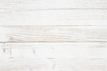 Weathered Whitewash Wood Textured Background